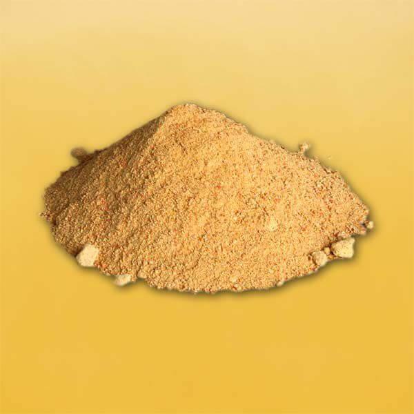 Afbeelding van hoe gedroogde suikerwortel eruit ziet
